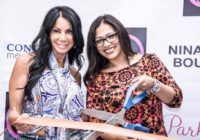 Real Housewife of New Jersey Danielle Staub attends red carpet opening of Nina Ambre Boutique